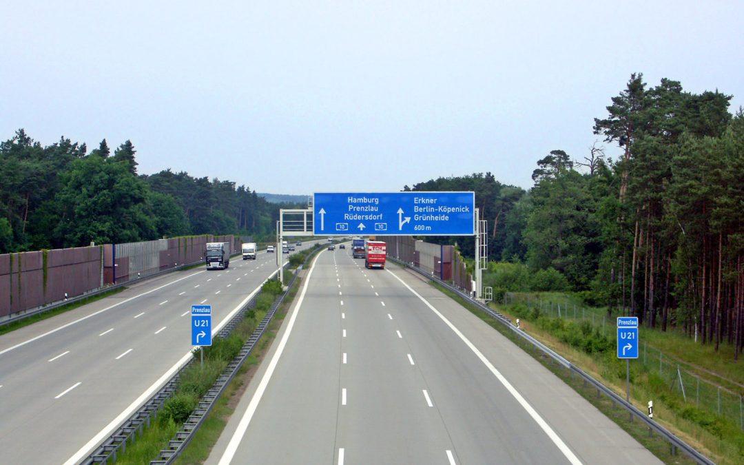 Podróżowanie po Niemczech.